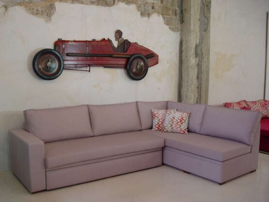 Γωνιακός καναπές κρεβάτι BYZOO