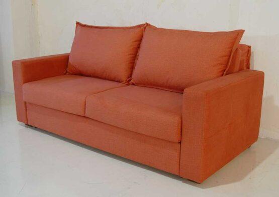 Καναπές-κρεβάτι-Ίμια-μπράτσο-καπιτονέ-πλάτη-μαξιλάρια με ρέλι