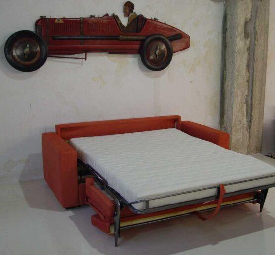 Καναπές κρεβάτι Ίμια μπράτσο καπιτονέ