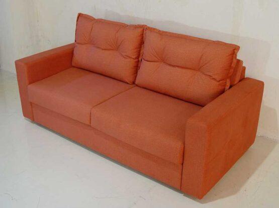 Καναπές κρεβάτι Ίμια μπράτσο καπιτονέ πλάτη μαξιλάρια ρέλι καπιτονέ